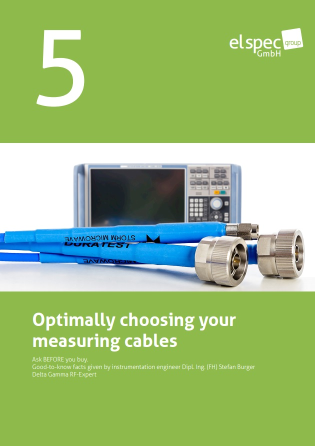 Optimally choosing your measuring cables